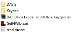 Daf Davie Expire Fix 300.02 + keygen