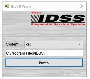Isuzu IDSS II  Patch