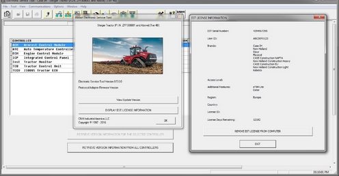 New Holland Electronic Service Tools  8.5.1  + Activator