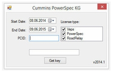 Cummins PowerSpec keygen 5.x - 6.x