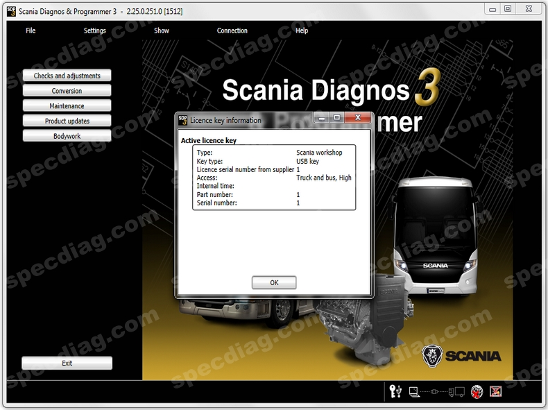 Scania SDP3  2.33 + activate