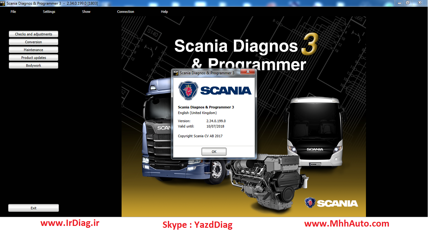 Scania SDP3 2.34.0 + Activation
