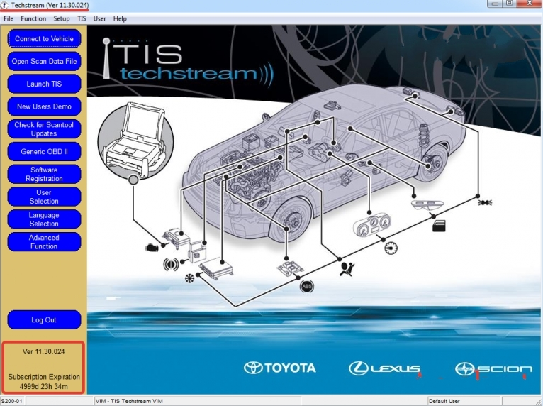 TOYOTA Techstream V11.30.024 + patch