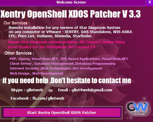 XENTRY Diagnostics Patcher v3.3