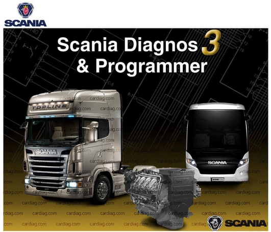 Scania SDP3 2.31 + crack